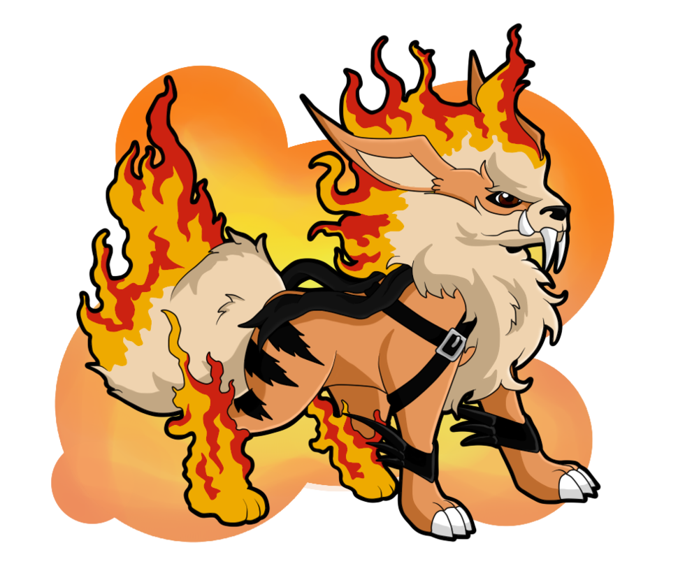 Arcanine transparent shisa. If were a digimon