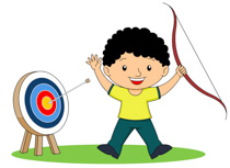 Archery clipart black and white. Search results for archer