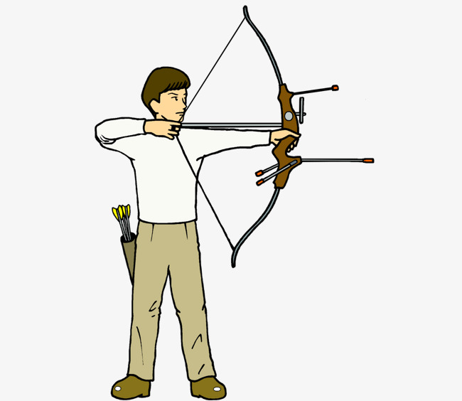 Archery clipart archery game. Hand painted horse riding