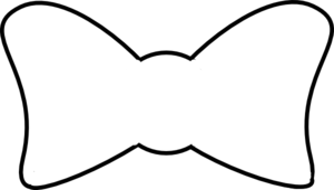 white bow tie png