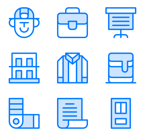 Architect vector icon. Packs for free