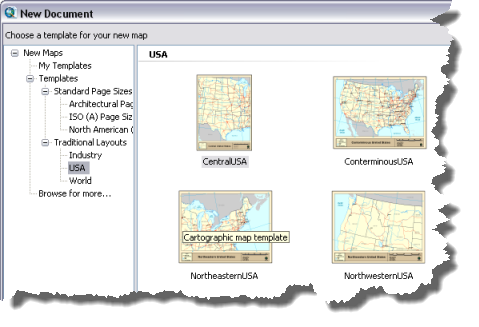 drawing toolbars arcmap