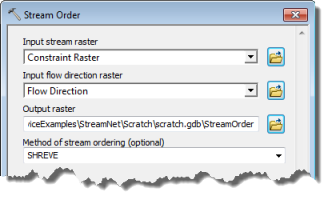 Arcmap clip dialog. Geoprocessing service example stream