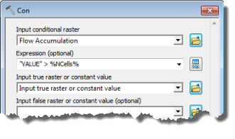 Arcmap clip raster. Geoprocessing service example stream
