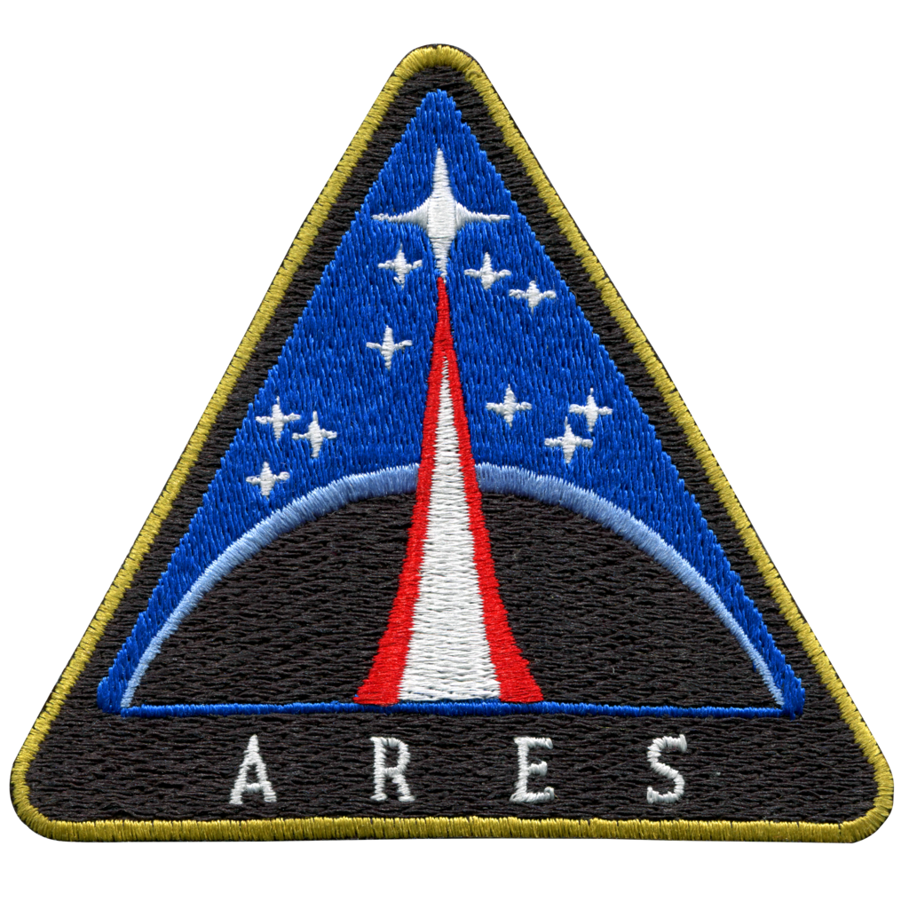 Ares vector greek god. Space patches