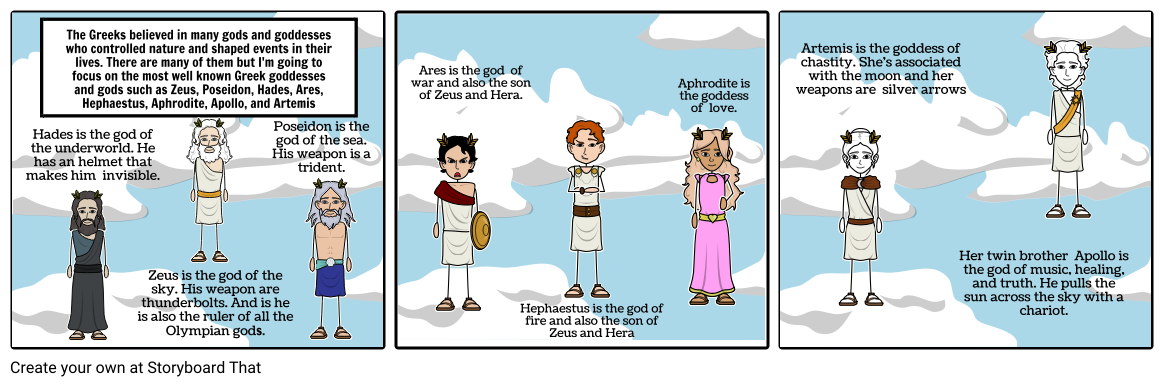 Ares vector greek god. Gods storyboard by aricaw