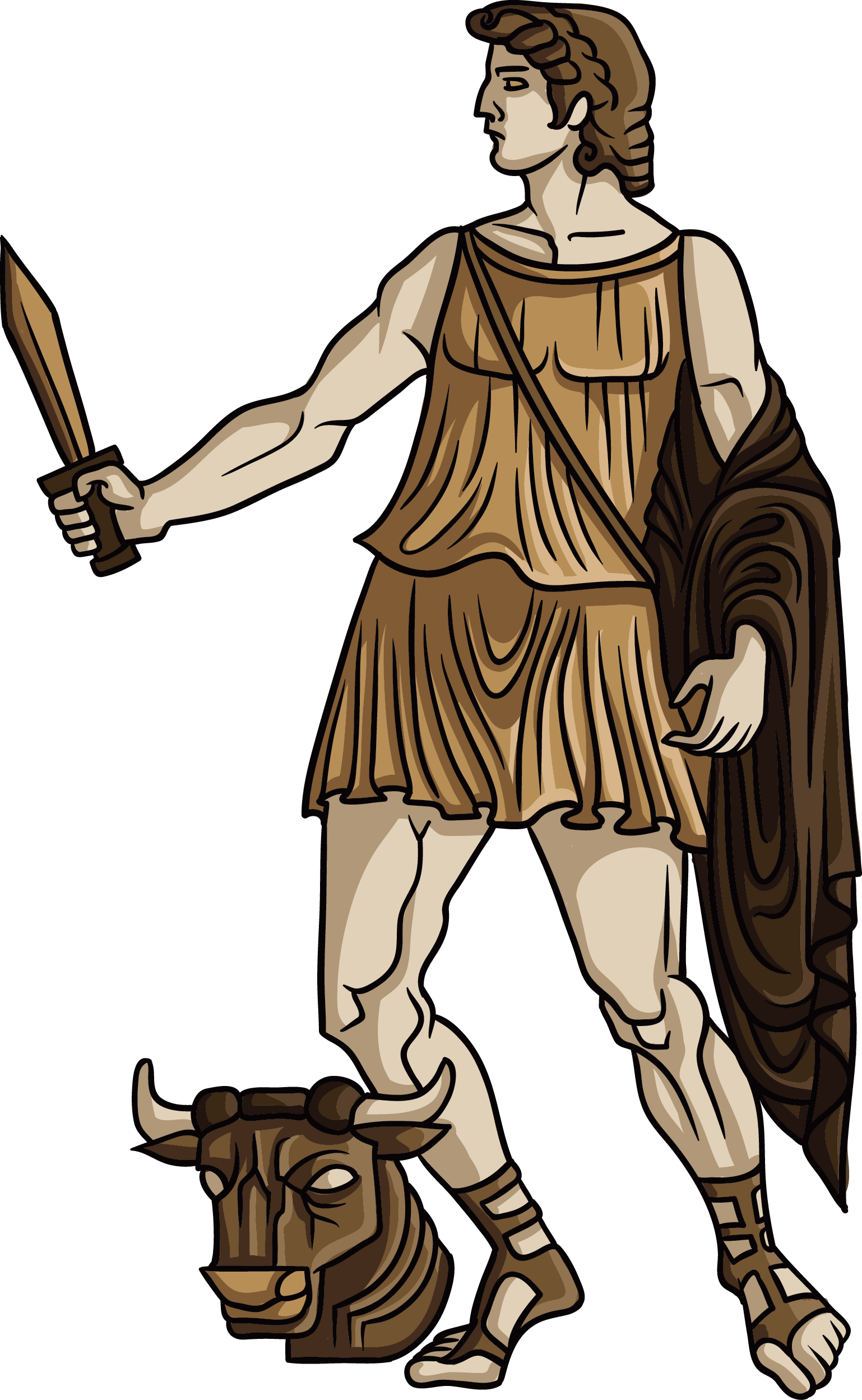 Ares vector greek god. Greece clip transparent