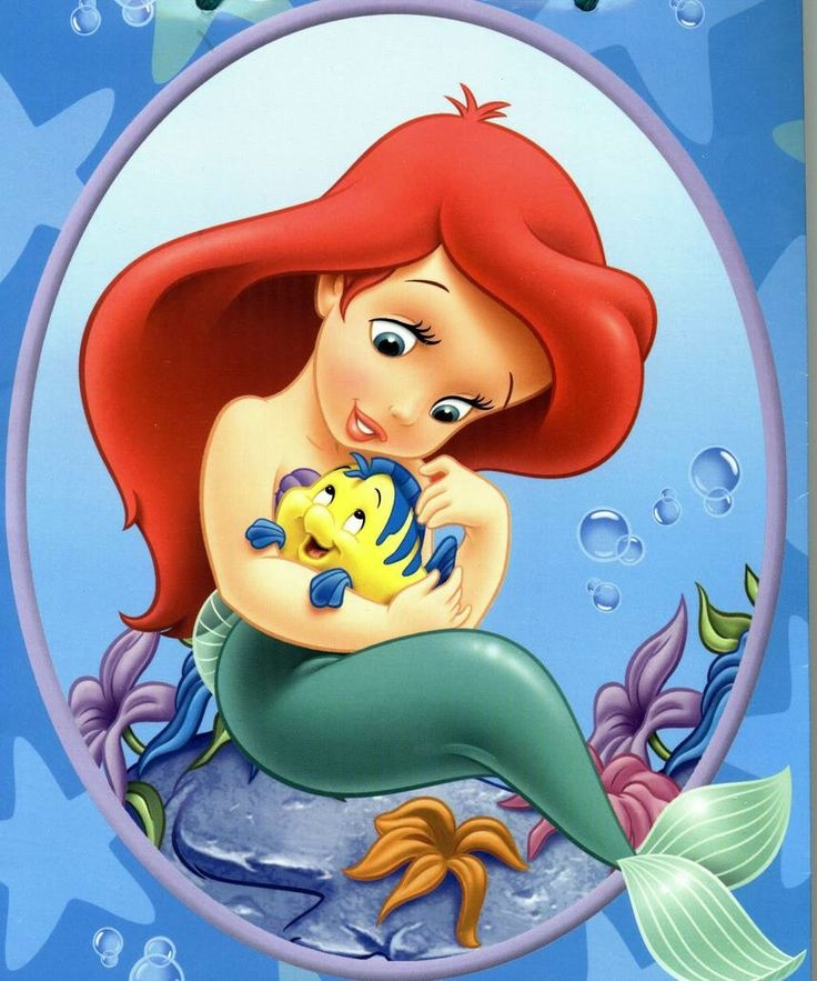 Baby . Ariel clipart ariel flounder picture library library