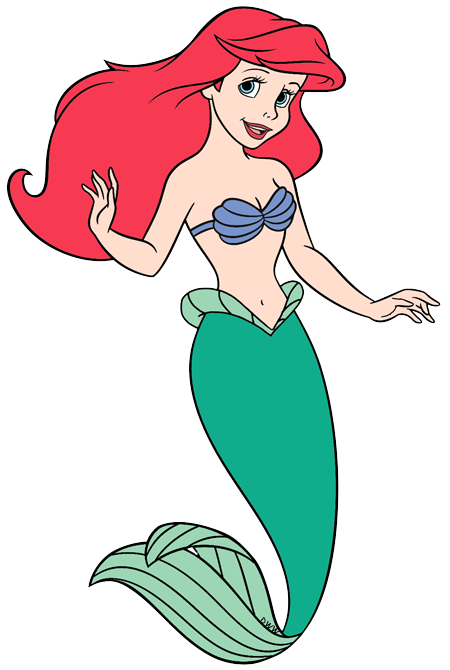 Disney Princess Ariel Clipart at GetDrawings.com | Free for personal ...