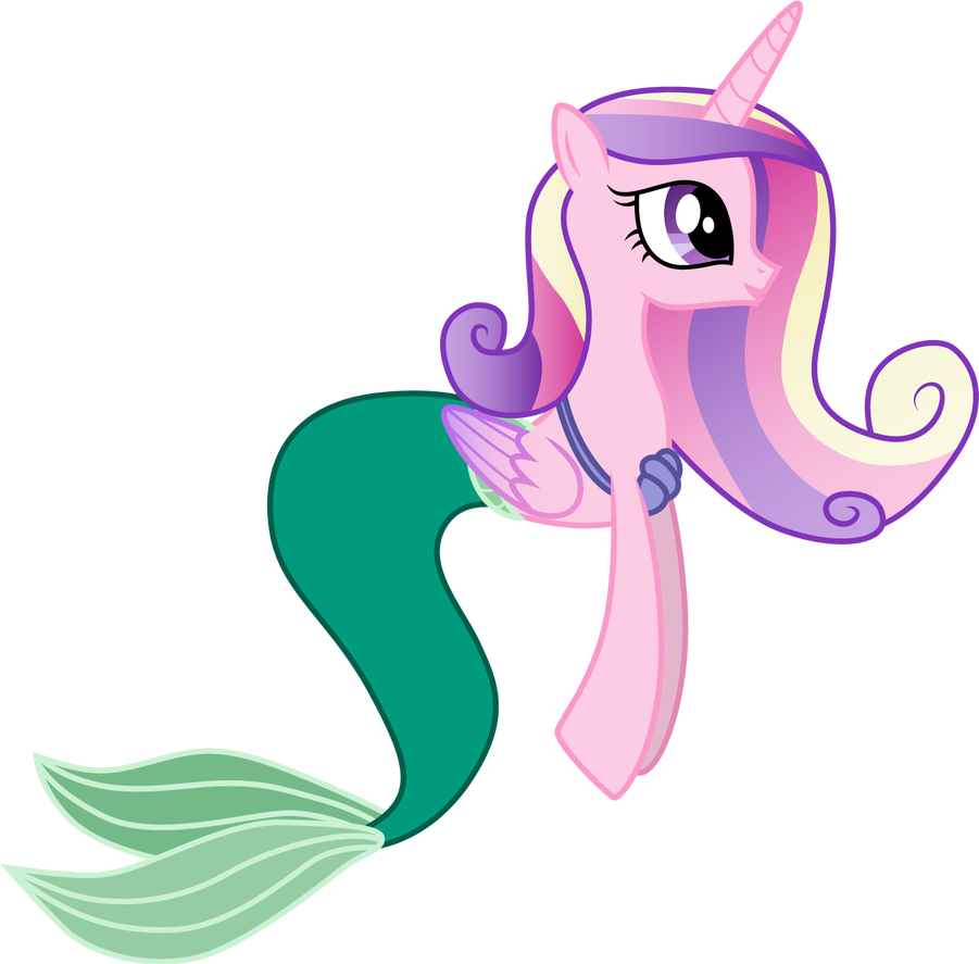 Ariel vector seahorse. Cadance as by cloudyglow