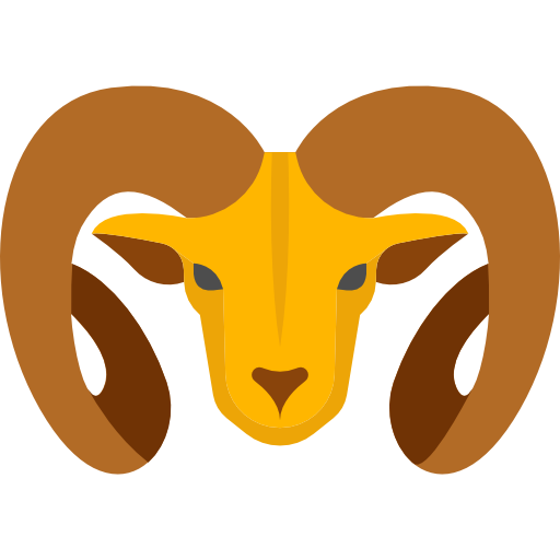 Aries vector animal. Png free clipart psd