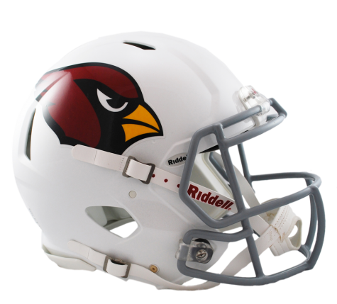Arizona cardinals helmet png. Authentic speed by riddell
