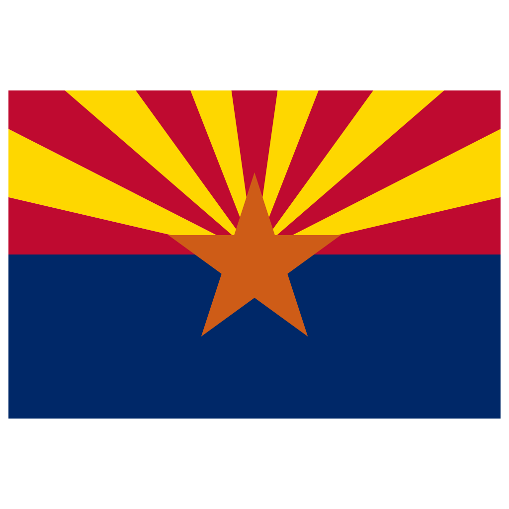 arizona flag png