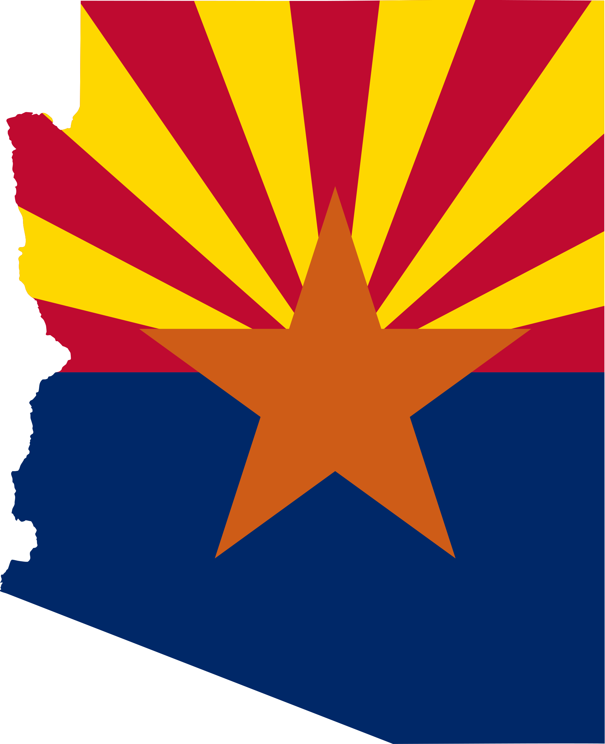 arizona outline png