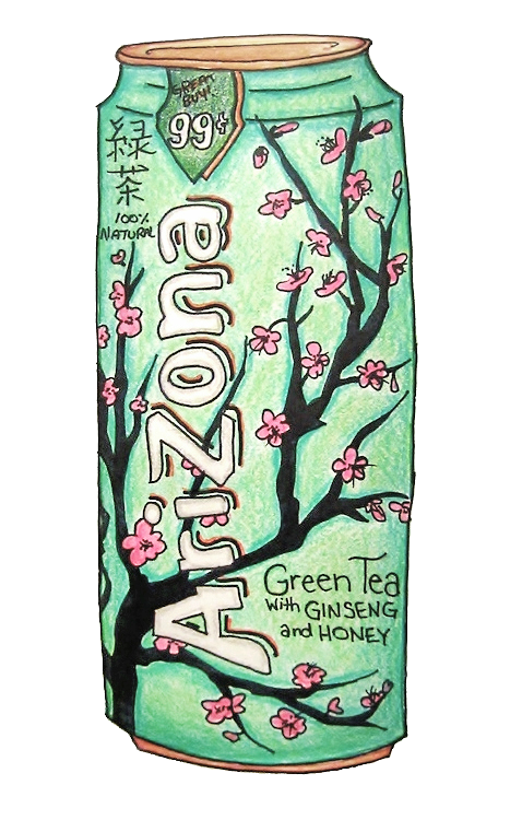 Arizona iced tea can png. Exceptence boho vintage for