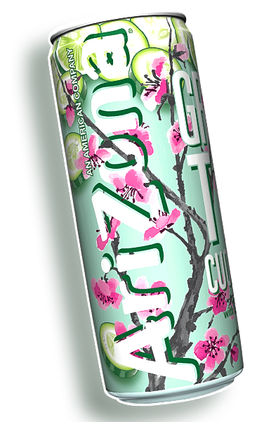 Arizona iced tea can png. Beverages america s no