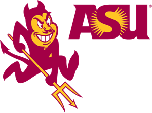 Arizona vector. State university logo eps