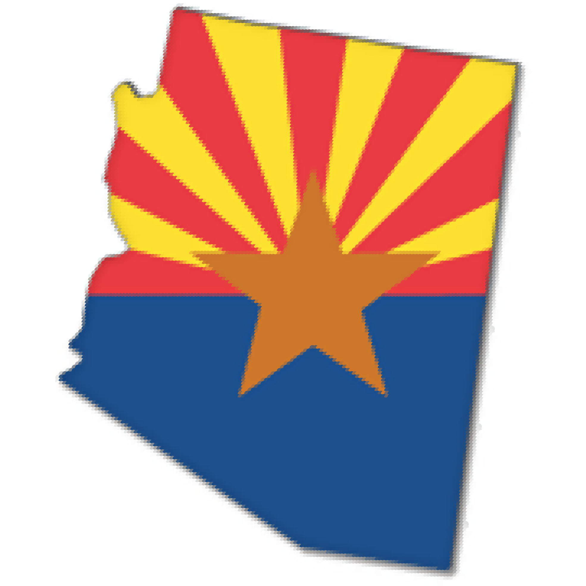 arizona vector clip art