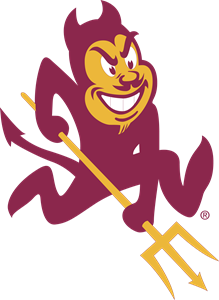 Arizona vector logo. State sun devils svg