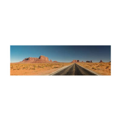 Arizona vector monument valley. Road to poster pixers