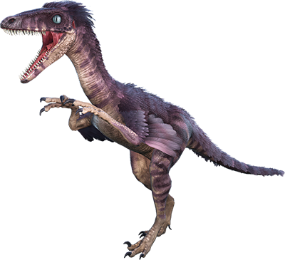 velociraptor transparent ark