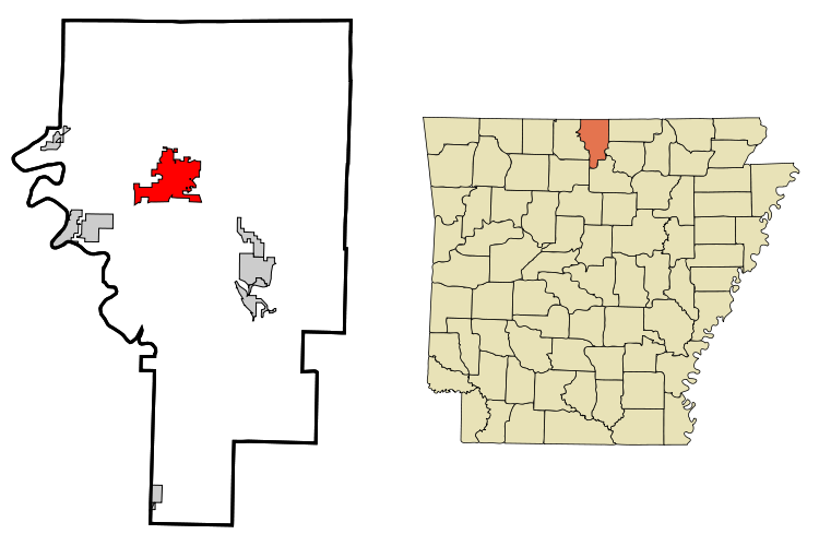 Arkansas svg home. File baxter county incorporated
