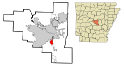 Arkansas svg home. Sweet wikipedia location in