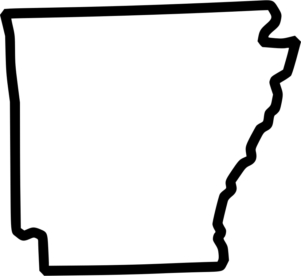 Arkansas svg outline