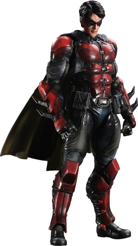 Robin dc png. Arkham origins collectible figure png royalty free library
