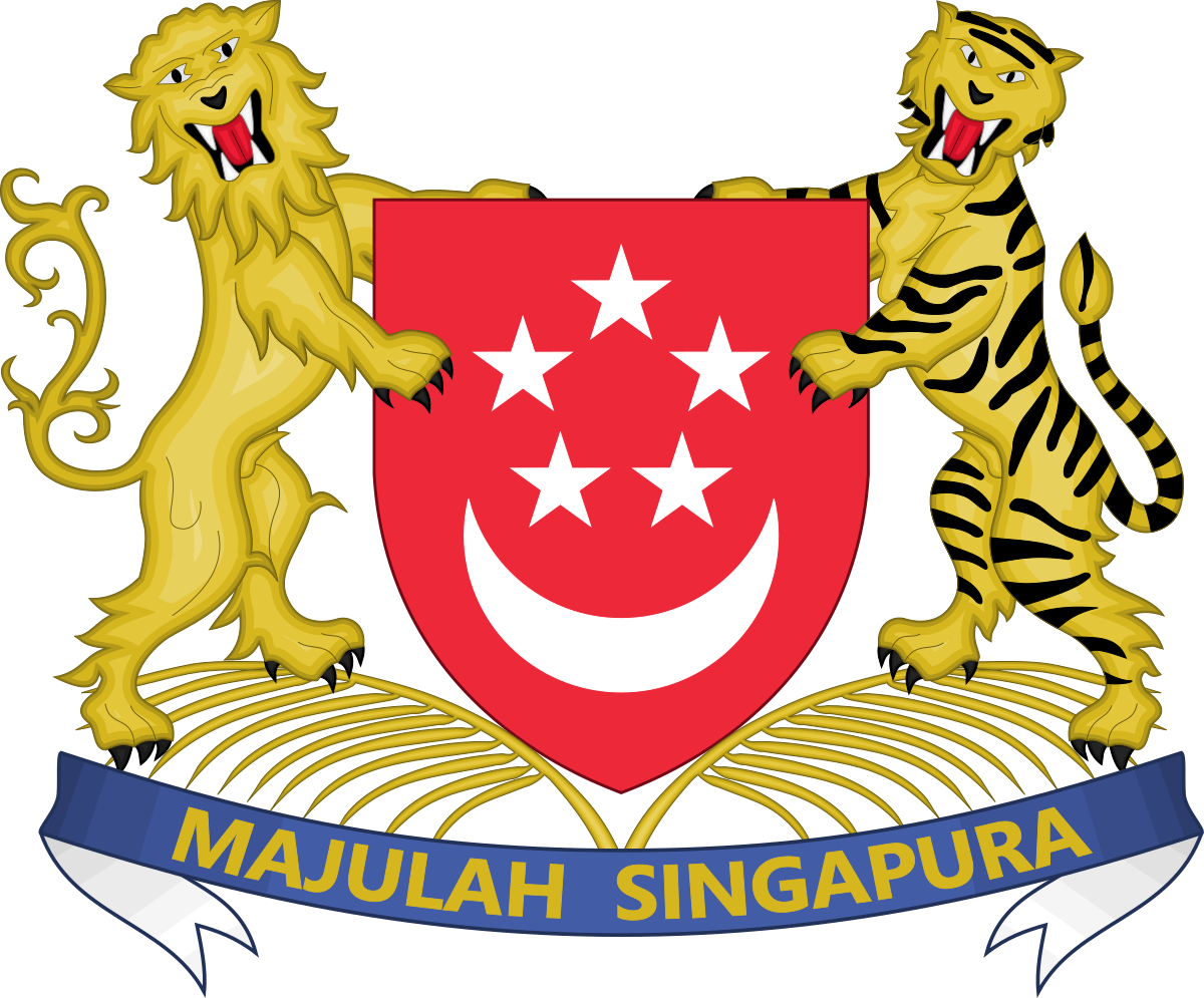 Power clipart legislative power. Coat of arms singapore