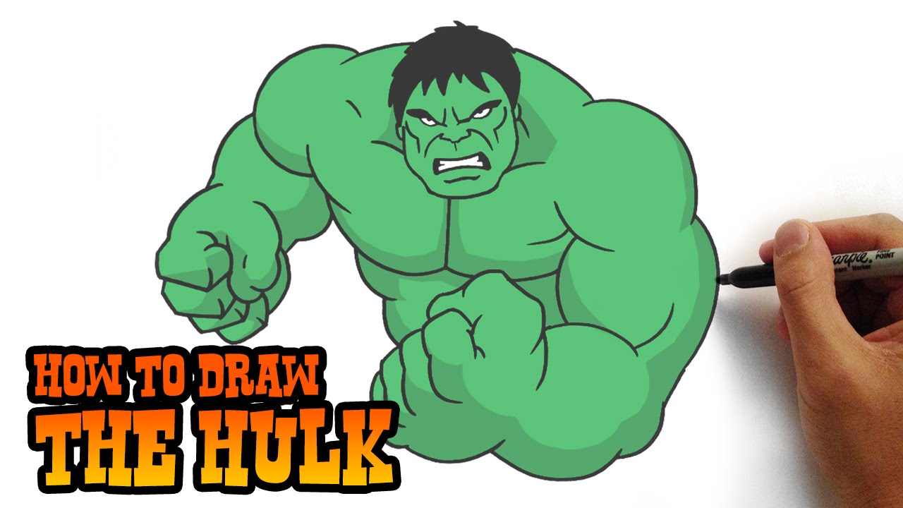Arm clipart hulk. How to draw the