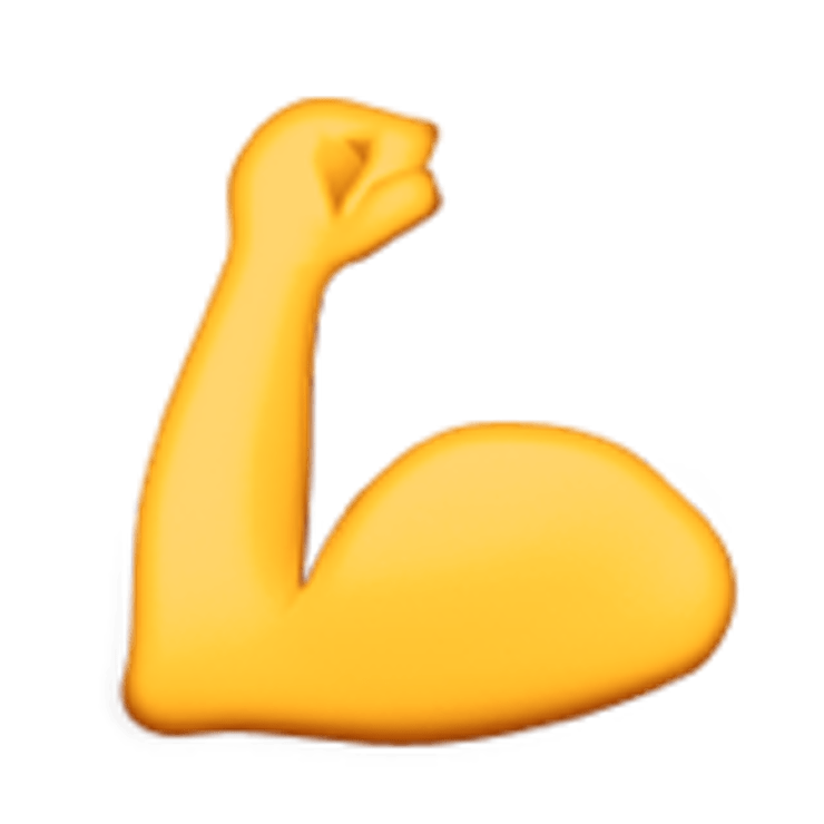 Muscle clipart. Bicep transparent png stickpng
