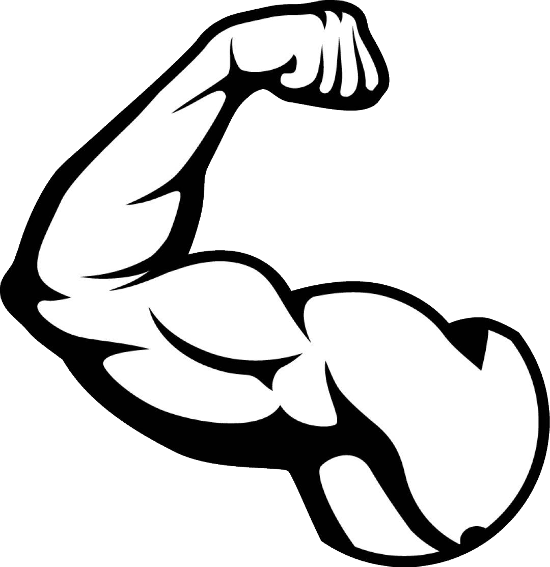 Biceps arm transprent free. Muscle png image royalty free library