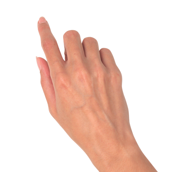 Arm pointing png. Hand woman gesture look