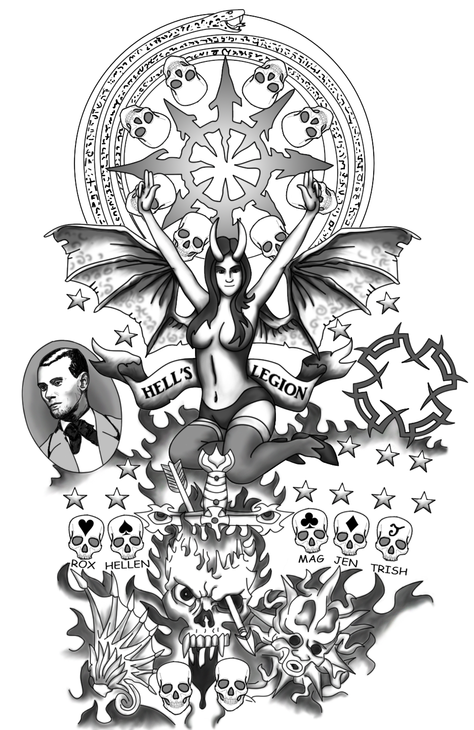 Transparent tattoo designs tumblr. Chest tatto png svg transparent library