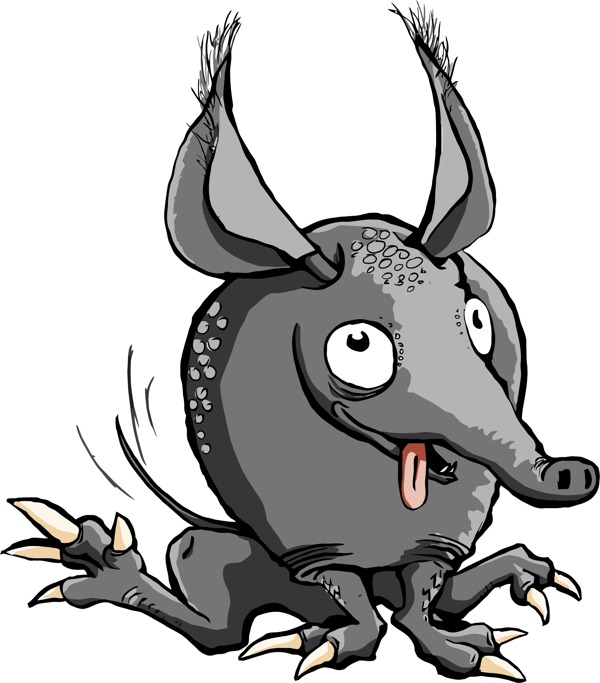 Armadillo clipart. Cartoon big image png