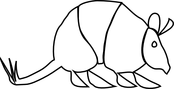Clip art at clker. Armadillo clipart picture royalty free download