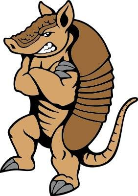 armadillo clipart cool