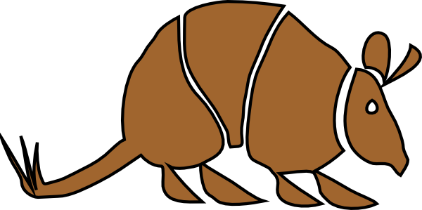 Armadillo clipart cute. At getdrawings com free