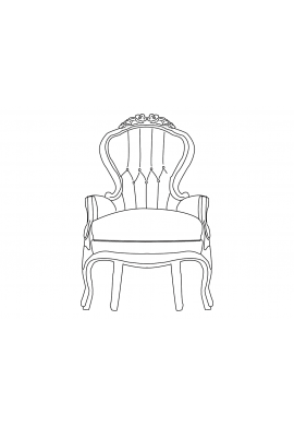 Armature drawing life. Collection of free chair