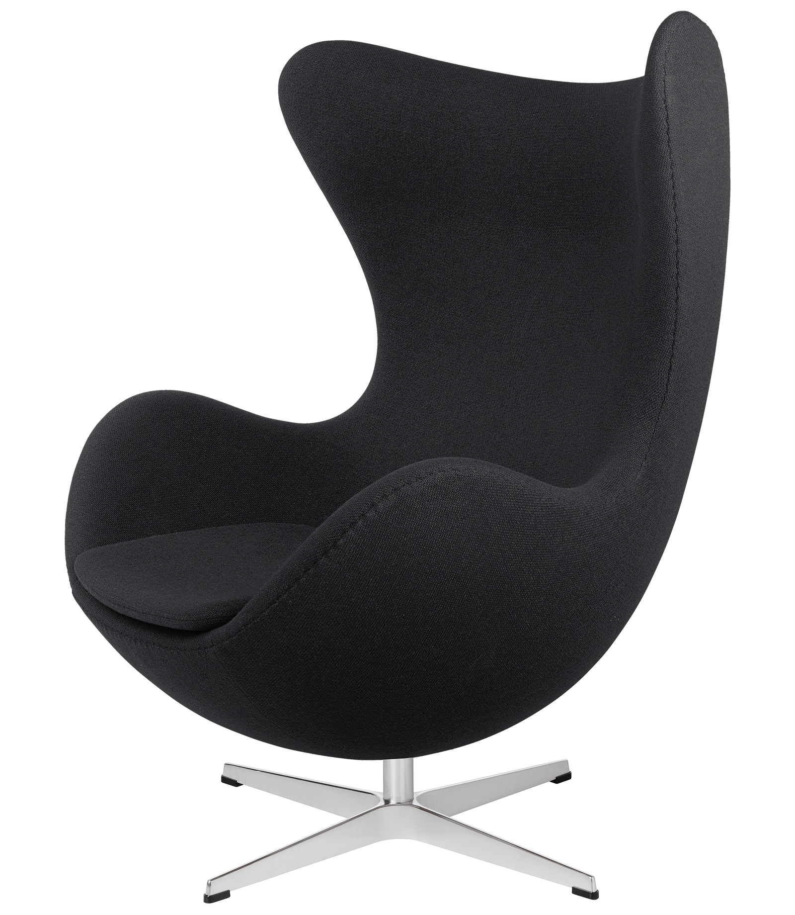 Armchair drawing lounge chair. The egg easy fabric