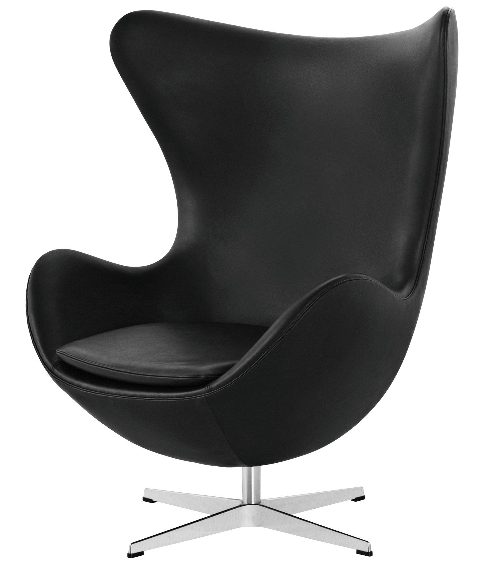Drawing chairs easy. Egg chair leather arne