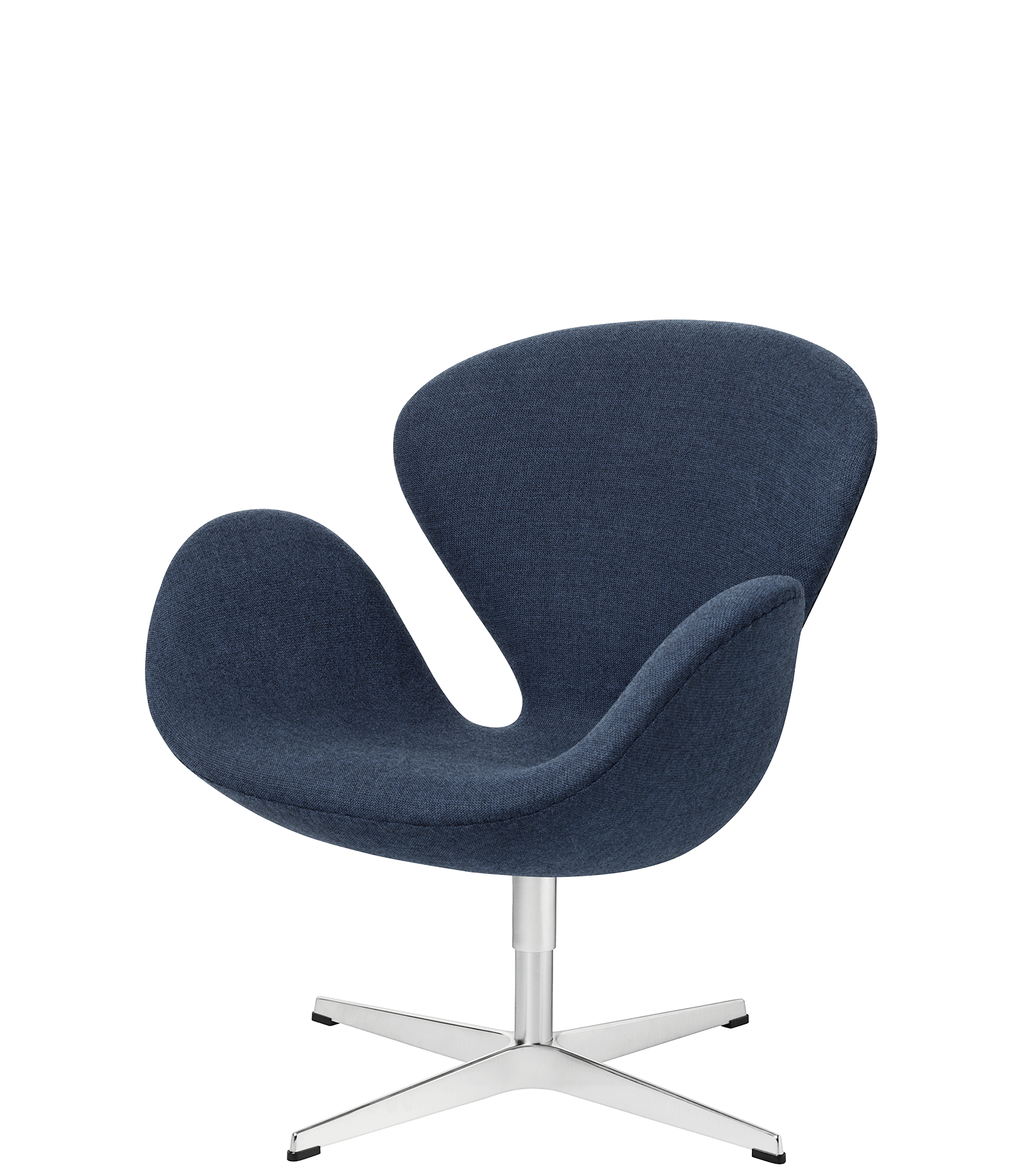 Armchair drawing lounge chair. The swan easy fabric