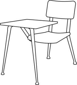 Armchair drawing school. Collection of chair