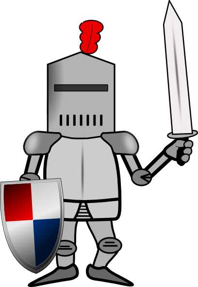 Armor vector cartoon. Collection of free armored