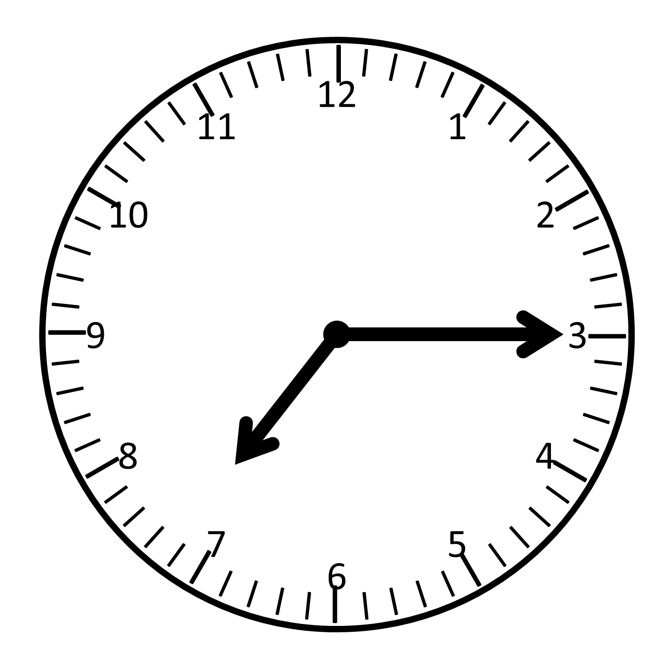 Timer clipart stamen. Free analog clock without