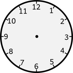 Arms clipart clock. Without clip art at