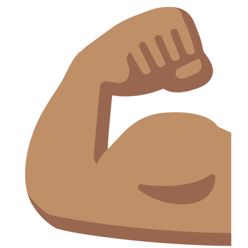 Arms clipart strong arm. Google android nougat