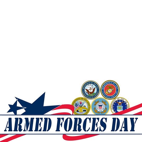 Arms forces day png. Armed profile picture overlay