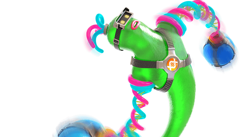 Arms helix png. Dna man nintendo switch